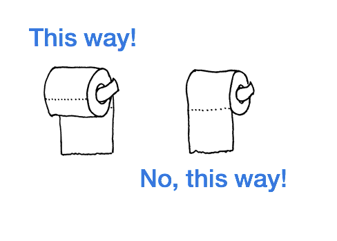 Confessions of ... Empty Toilet Paper Roll Png